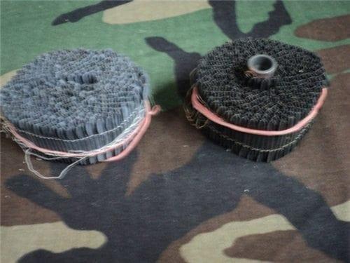 original roll of 1″ flechettes