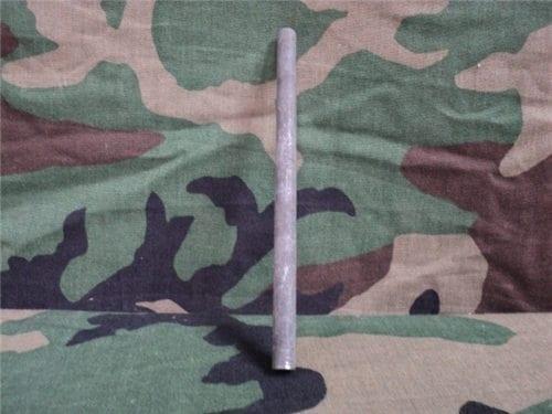 Flechette roll center rods.