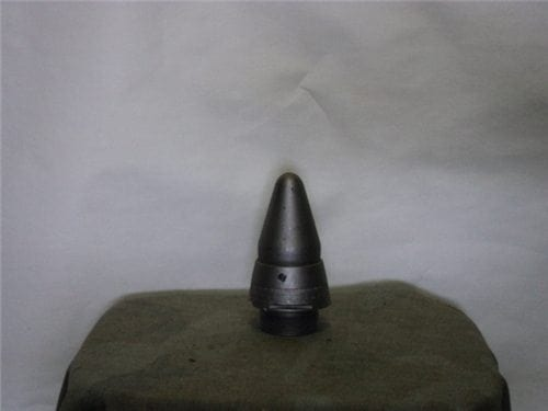 3 inch x 50 inert Mark 22 nose fuse with 1.5 inch base.