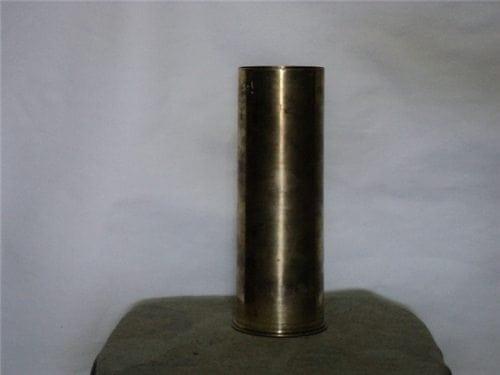 3 inch Mark 7 Mod 1 short brass case for practice loading, needs polishing