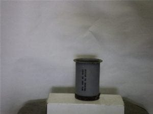 3 inch long inert Booster charge holder without dummy charge.