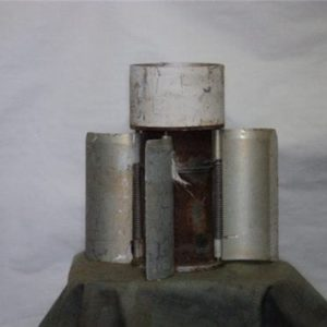 5″ inert rocket motor and fins, Assorted length bodies