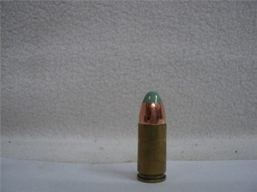 9mm Tracer ammo. Green tip foreign. Price per round.