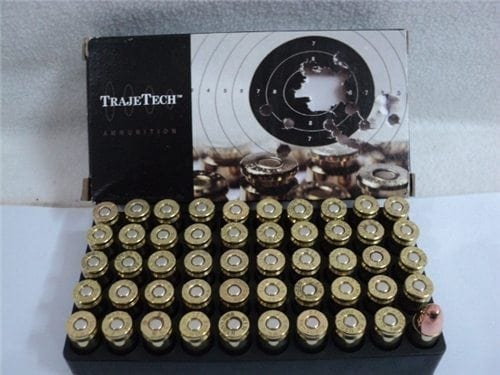 9MM 115 FMJ Reman by Trajetech 100 rd pack. (you will receive two 50 round boxes).