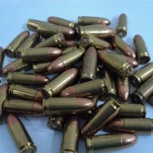 9MM Factory ball ammo, Mixed headstamp Remington, Winchester, Etc.50 round bag.