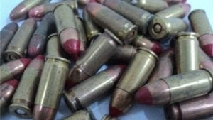 9MM Red tracer ammo 50 round bag..