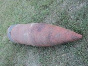 16 Inch Inert Projectile (approx, 2700 lbs)