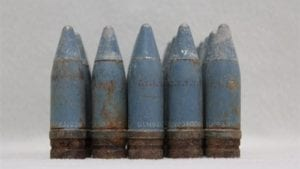 20mm Vulcan TPT projectile, without tracer, washed, grade 1, pack of 25