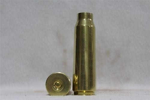 20mm Vulcan resized,percussion primed with 50 cal primer, brass case, Price Each