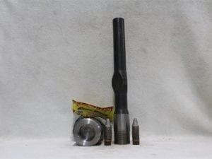 20mm Vulcan fuse type cannon kit (chamber end) uses 50 cal powder (w/500 gd.3 proj.), Price Each.