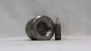 20mm Vulcan steel chamber cap for fuse type cannon (includes 500 grade 3 projectiles), Price Each