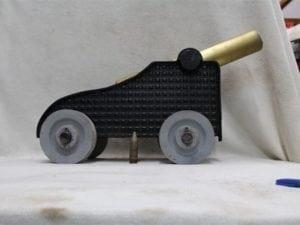 20mm Vulcan fuse type cannon (civil war deck gun replica)w/8# WC-860 + 500 gd. 3 proj., Price Each
