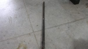 20mm Vulcan full length, uncut barrel with weld in chamber + 500 grade 3 projectiles, Price Each