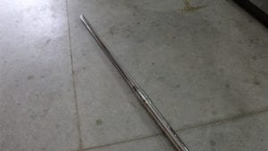 20mm barrel chrome lined, no riflings, (possibly Phalynx), Price Each