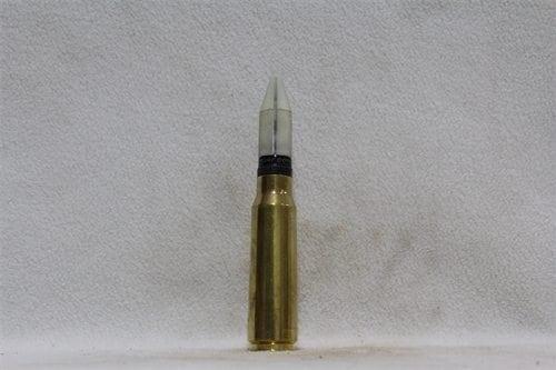 20mm Phalynx- fired brass case, white sabot dummy round, Price Each