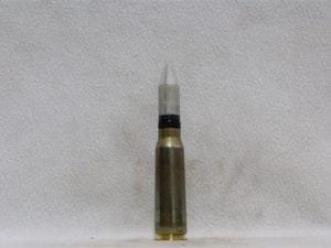 20mm Phalynx- new brass case, white sabot dummy round, Price Each