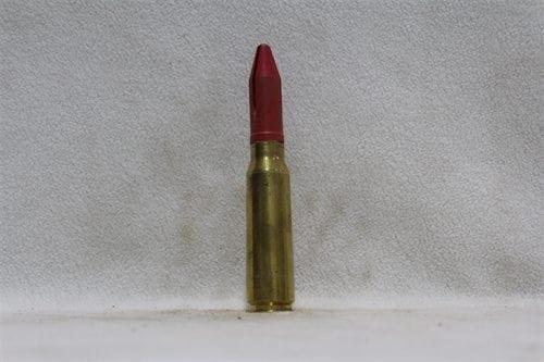 20mm Phalynx- fired brass case, red sabot dummy round, Price Each