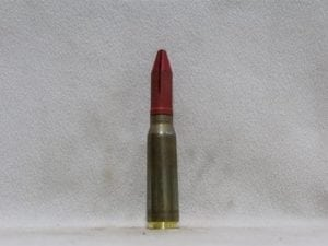 20mm Phalynx- new brass case, red sabot dummy round, Price Each