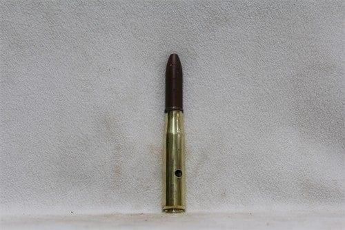20mm Oerlikon brass case dummy round, polished, Price Each