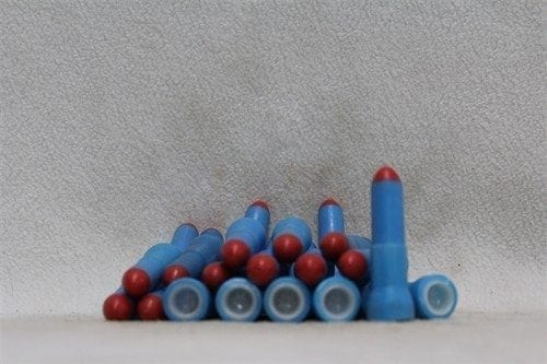 20mm tracer pellets made from top 1/3 of 50 cal training tracer rounds, pack of 25