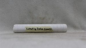 20mm copy of original loading data sheets, Price Each