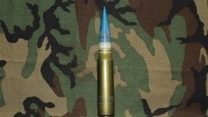 30mm Vulcan, GAU-8 Dummy Round with single plastic band and TP projectile, Price Each