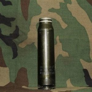 30mm Viulcan GAU-8 once fired aluminum cases, Price Each