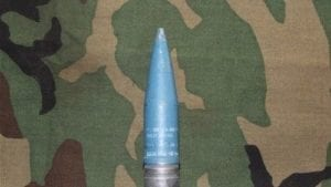30mm Vulcan GAU-9A blue projectile with solid driving band, Price Each