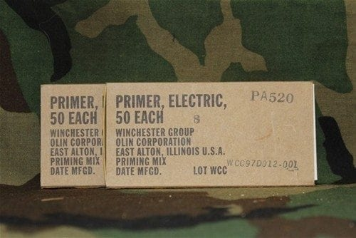 30mm electric primers, pack of 100 (sold only to test labs, ffl's and dd licensees)