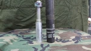 37MM Rifle parachute flare. price each