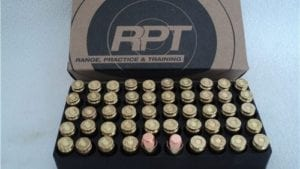 40 S&W 180 Grain RNFP Re-Manufactured. 50 round box.