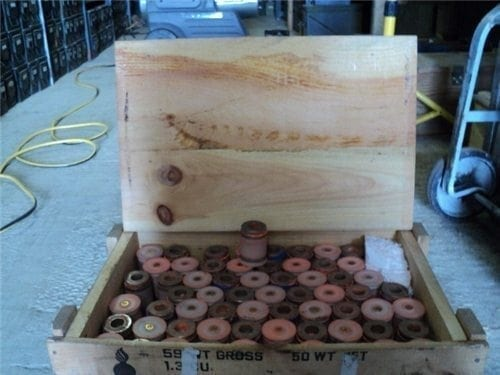 M79/203 – All factory sure fire. Without blue plastic cone. Wood crate of 100rds.