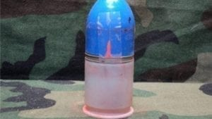 M79/203 Live target practice ammo with cracked blue plastic cap. Most rounds will chamber. 25 round pack