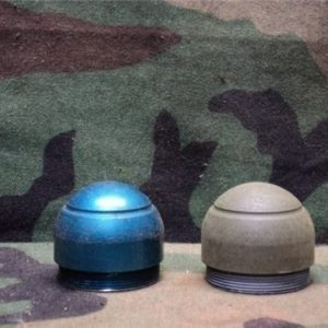 40 mm Screw on hollow nose fuse (inert) blue or over painted od.