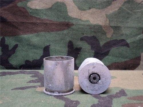 40 mm Fired aluminum cases. Grade 2