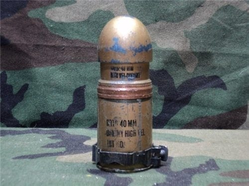 40mm Mark 19-dummy round Unprimed w/link
