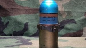 40 MM. MARK 19 HELICOPTER GUNSHIP LIVE TP AMMO WITH REMOVABLE TIP.