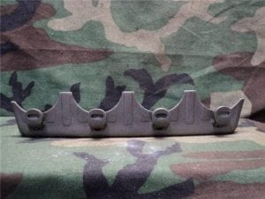 40mm L-60 Bofors four shot clip, single sided
