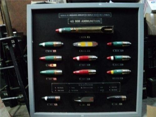 40mm bullet board