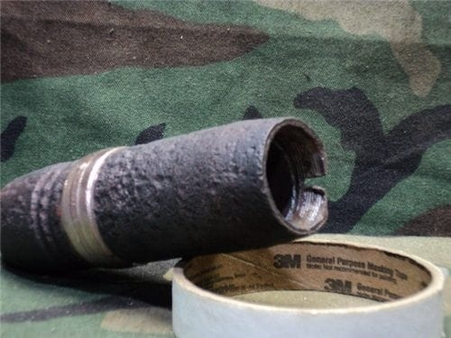 40mm L-70 projectile threaded