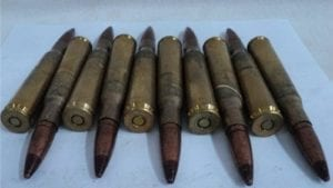 50 cal tracer ammo HS-86. Berdan primed, non corrosive. 10 round pack.
