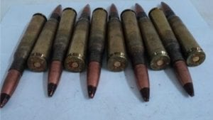 50 cal tracer ammo LC 85. 10 round pack.