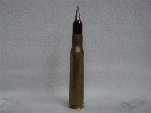 50 cal slap tracer/AP ammo. Saboted light armor piercing tracer ammo. Price is per round.