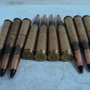 50 cal WWII AP ammo. Original U.S. TW-44 ammo.10 round pack