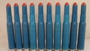 50 Cal plastic training blanks. 10 round pack.