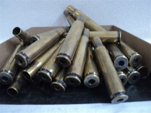 50 cal WWII fired brass. 50 case pack