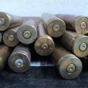 50 cal brass case, Korean war headstamp. 50 case pack.