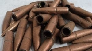 50 cal hollow tracer jackets. Cleaned. 100 projectile pack.