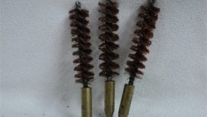 50 cal bore brush. Set of five