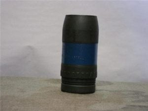 57mm recoiless inert projectile without nose fuse